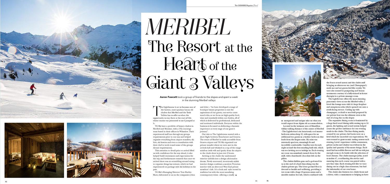 Travel resort features -