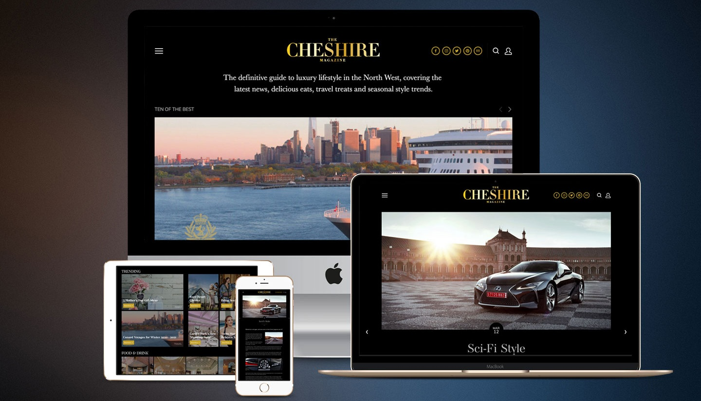 Guest Blog Posting -The CHESHIRE Magazine | The Luxury