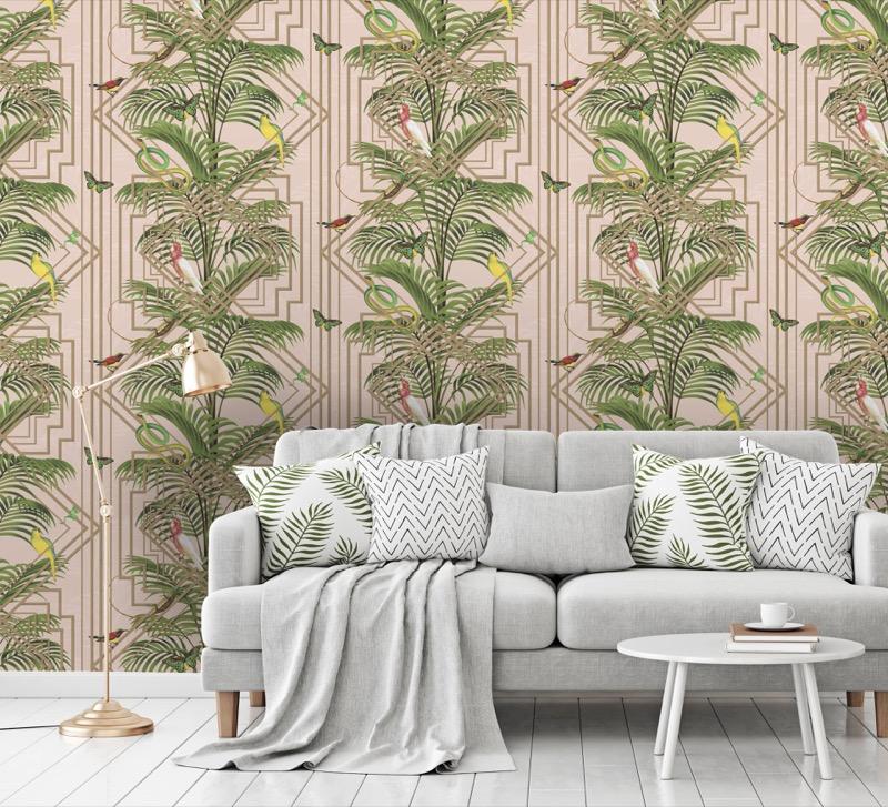 Holden Glass House Congo wallpaper - pink (2).jpg