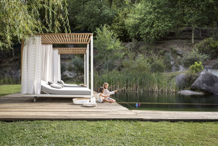 Pavilion daybed by Tribu