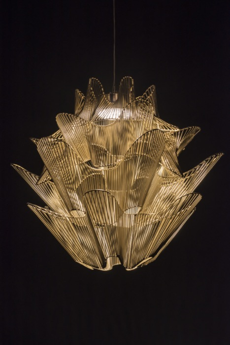 Moire lighting by Terzani