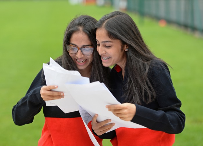 WGS GCSE 2019 Withington-Girls'-School-Twins-Imaan(L)Safa(R)-GCSE-Results-2019.jpg