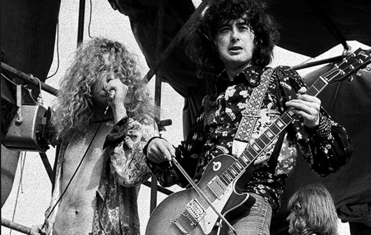 Bloody Led Zeppelin, that's who.
