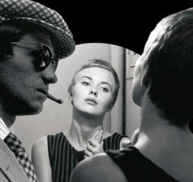 From Breathless (1960) by Jean-Luc Godard.