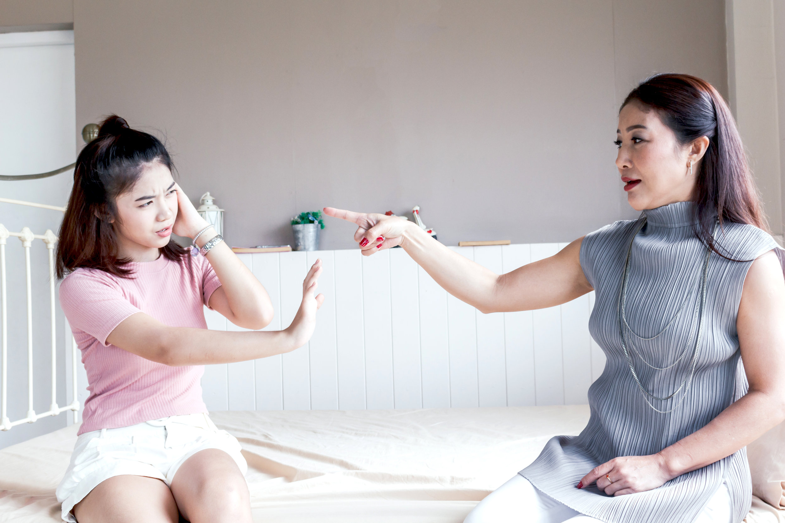 Avoid finger pointing or fighting about money if possible. You may be able to use this moment as a learning experience.