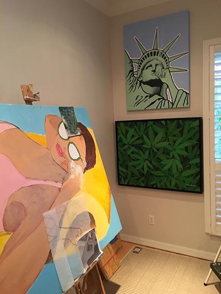 Floridaze in the Studio