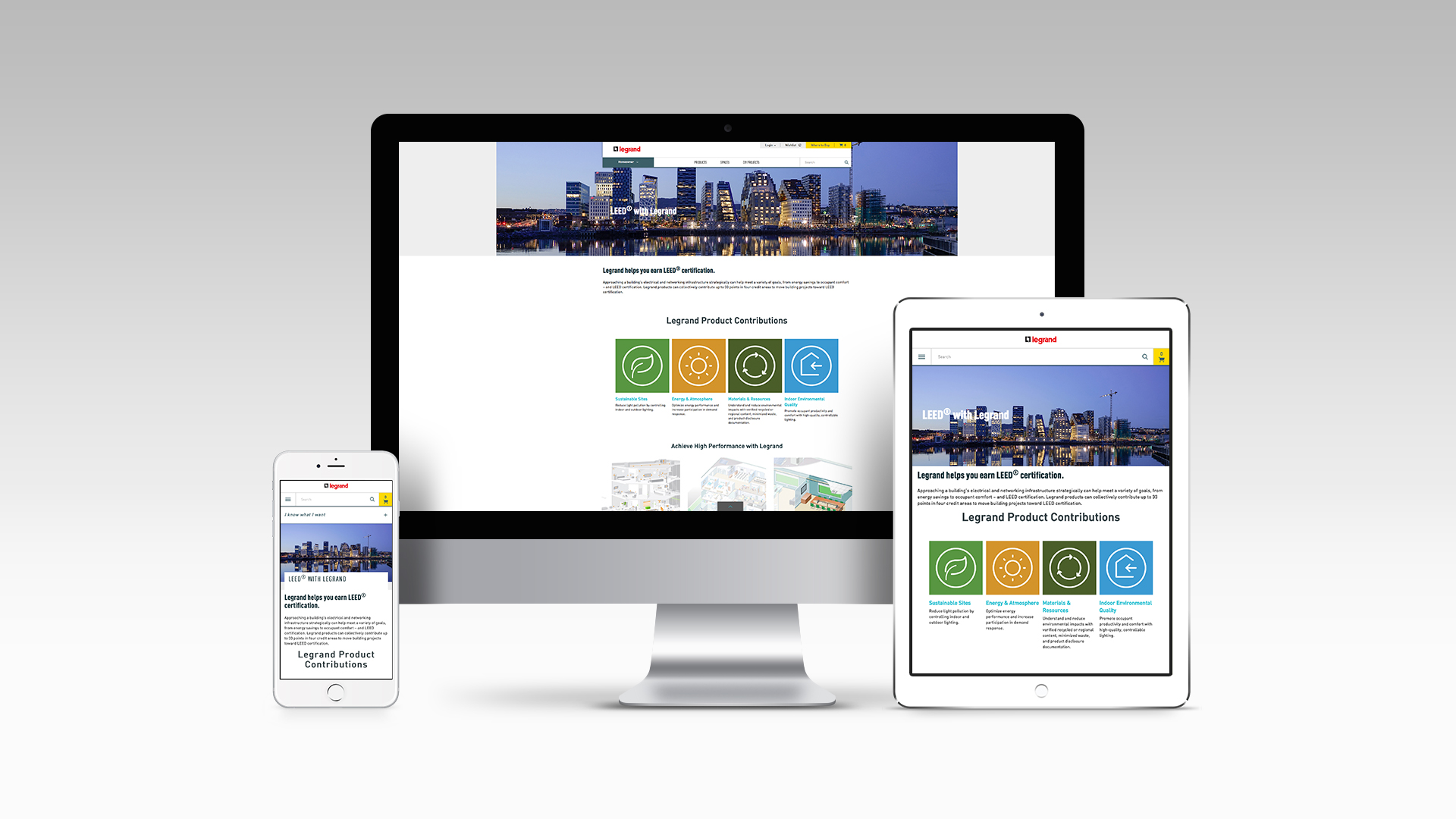 LEED with Legrand:  Responsive Display