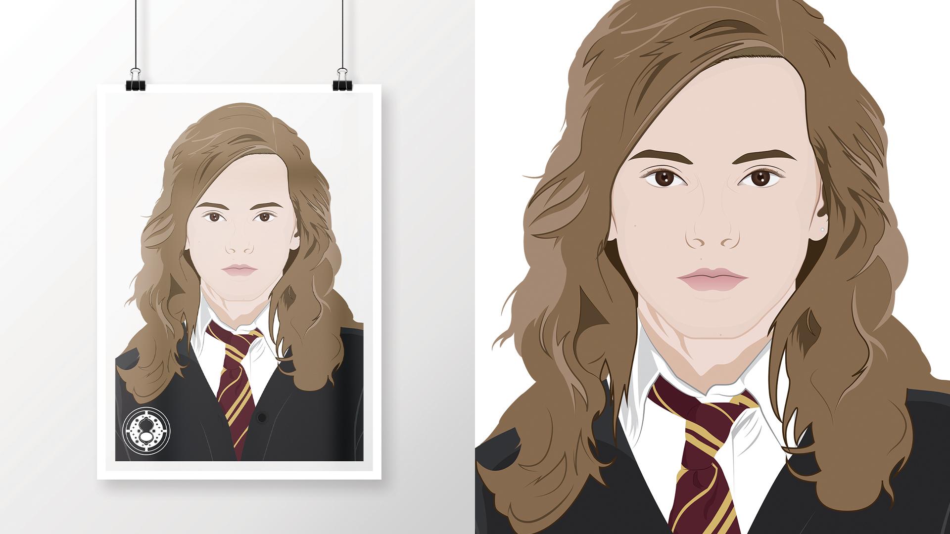 Emma Watson as Hermione Granger   As seen in Harry Potter