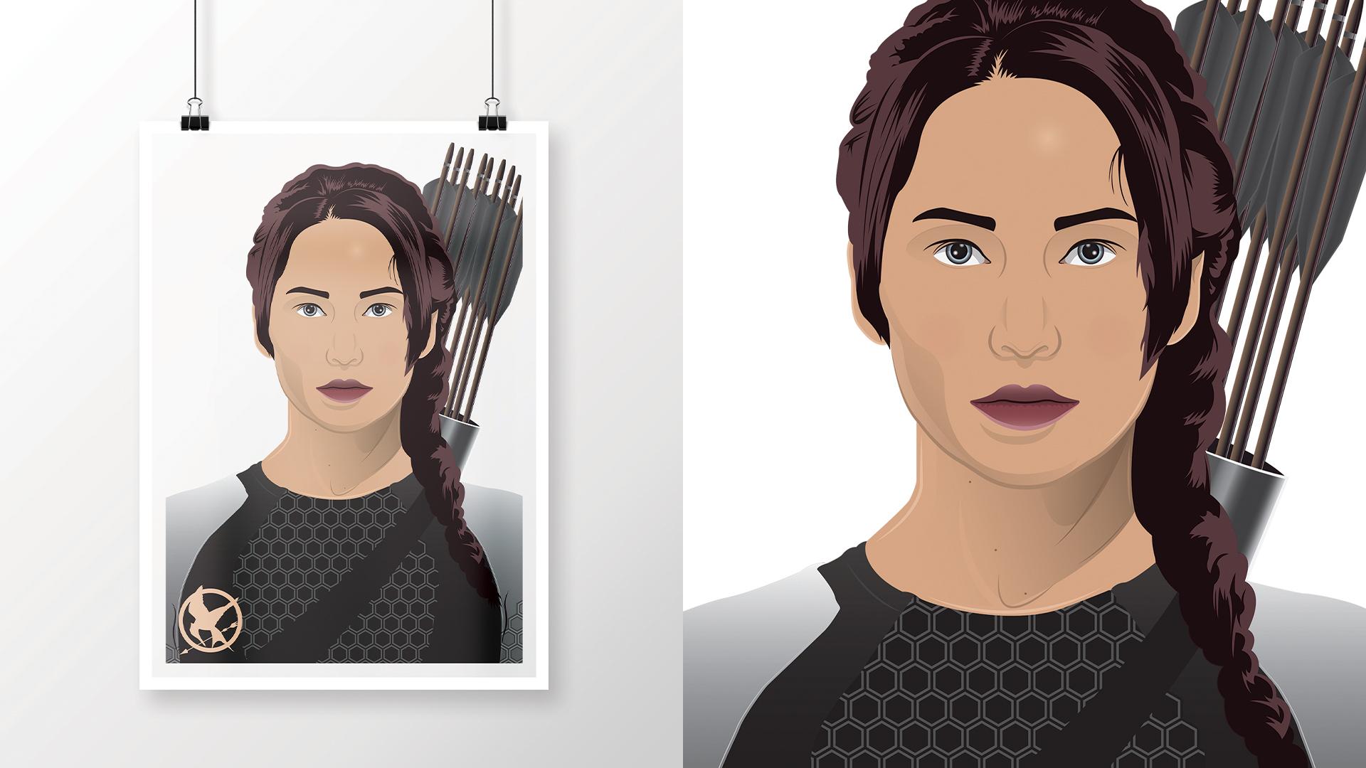 Jennifer Lawrence as Katniss Everdeen   As seen in The Hunger Games: Catching Fire