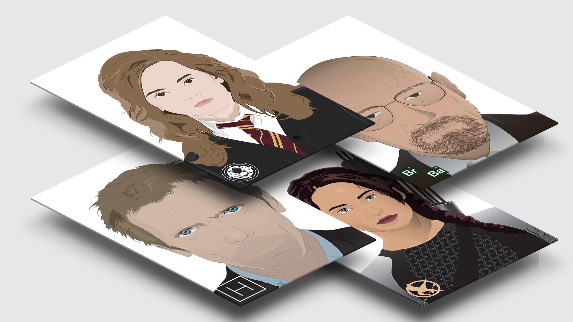 Celebrity Illustration Series