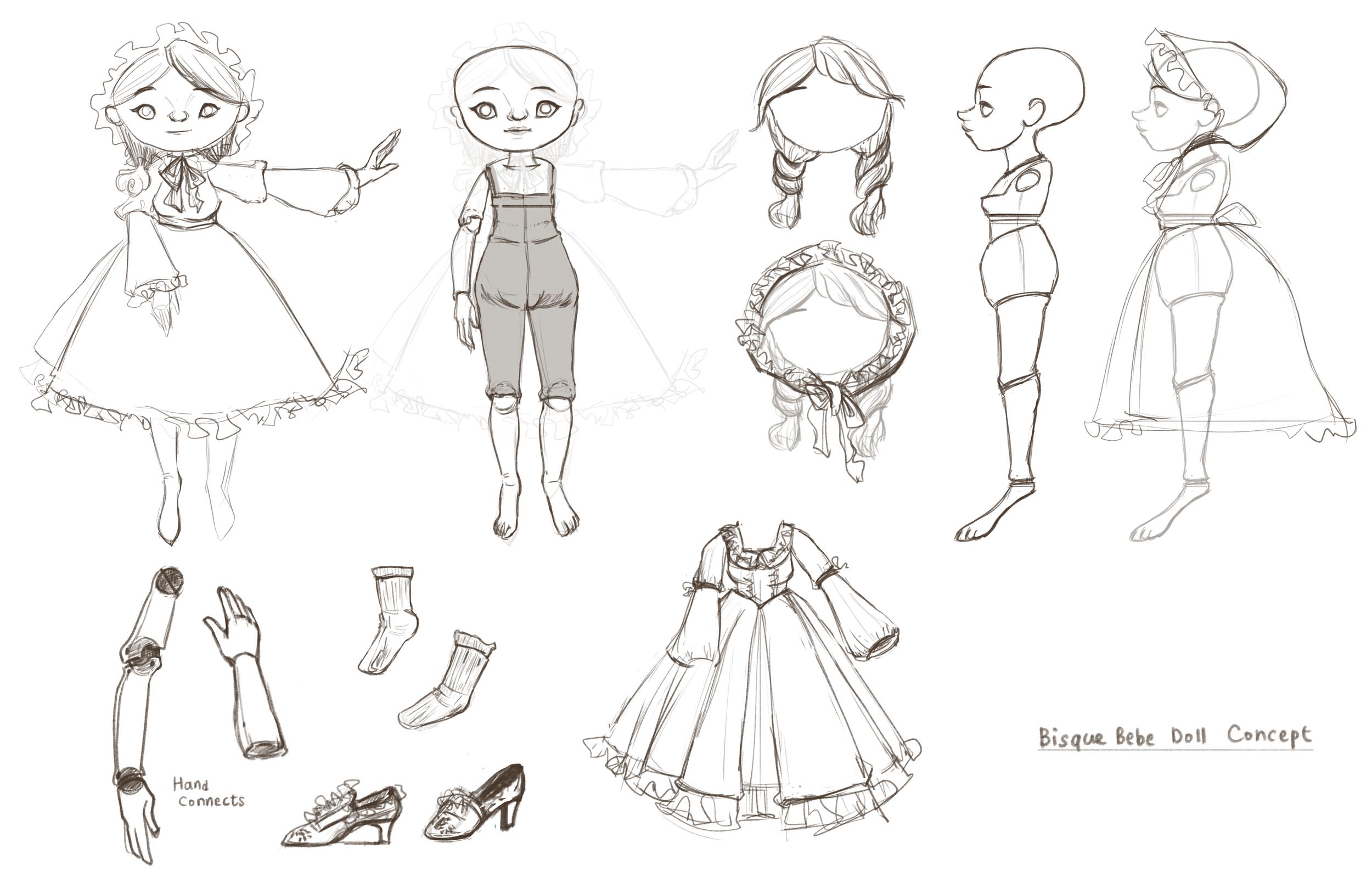 Babe Doll Rough Concept
