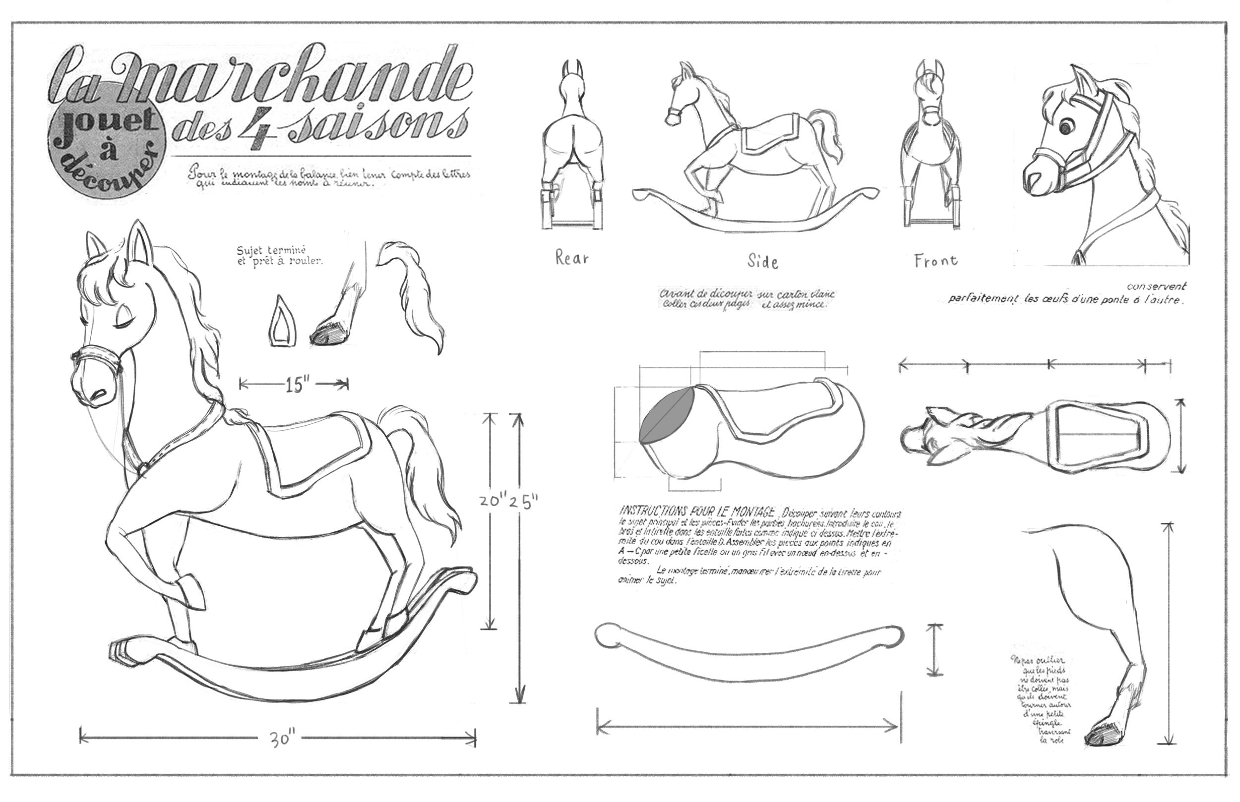 Horse Rack Blueprint