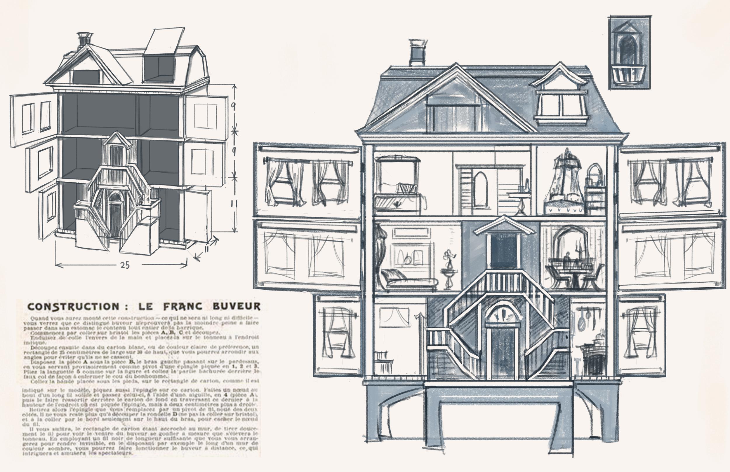 Dollhouse Rough Concept