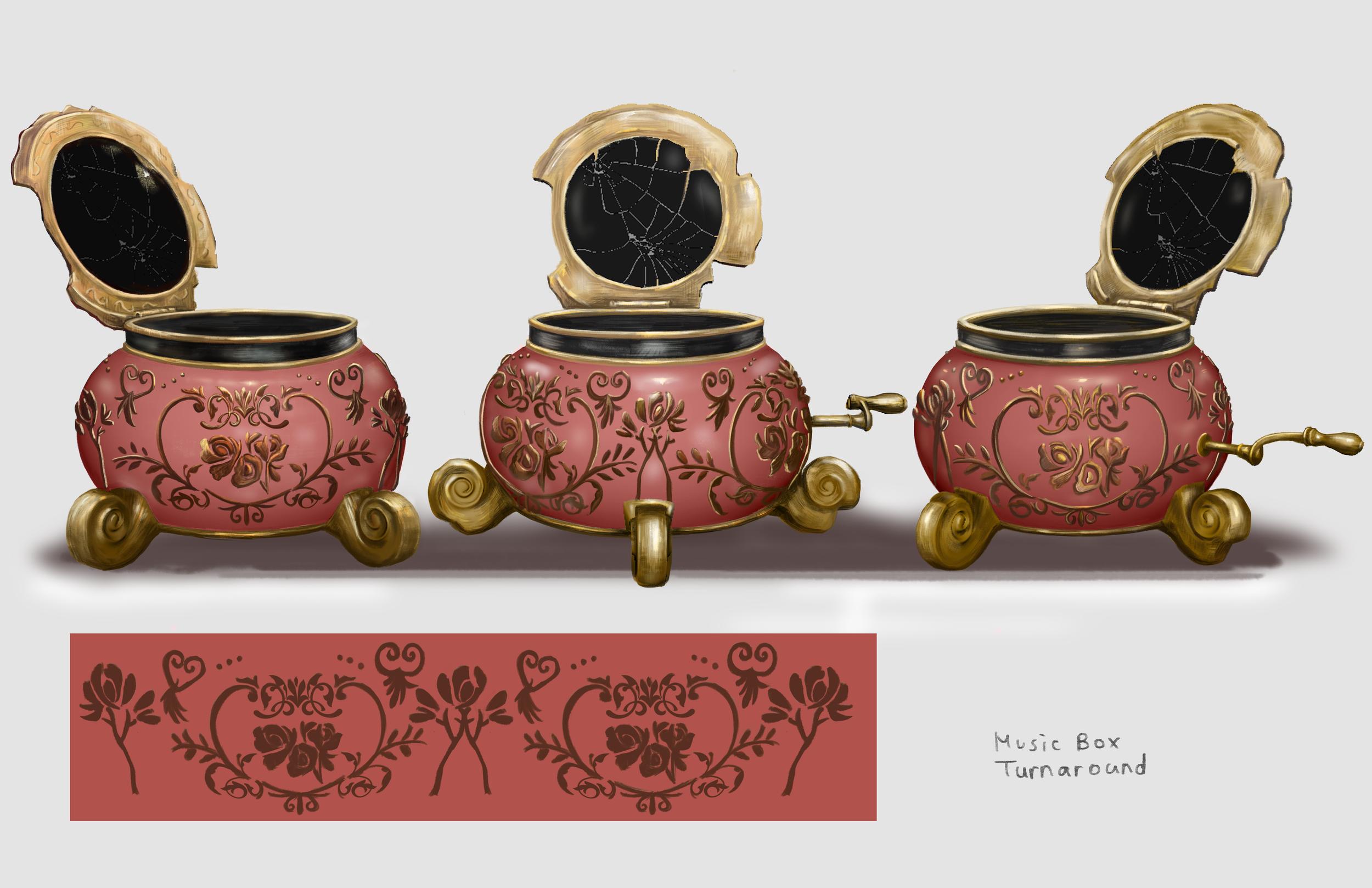 Music Box, Pattern Design