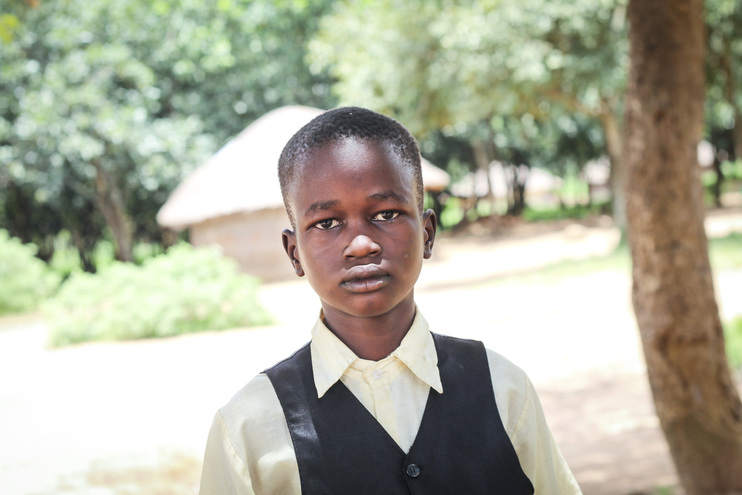 "Amos Lee Akim - ""I want to be a doctor.""Age: 10 