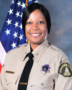 Correctional Chief Misha Graves has 21 years of correctional experience. She joined the Riverside County Sheriff 's Department in 1997. She began her career as a Correctional Deputy working a variety of assignments while assigned to the Robert Presley Detention Center (RPDC).  In 2006, Correctional Chief Graves was promoted to the rank of Correctional Corporal and assigned to…full bio click  here .