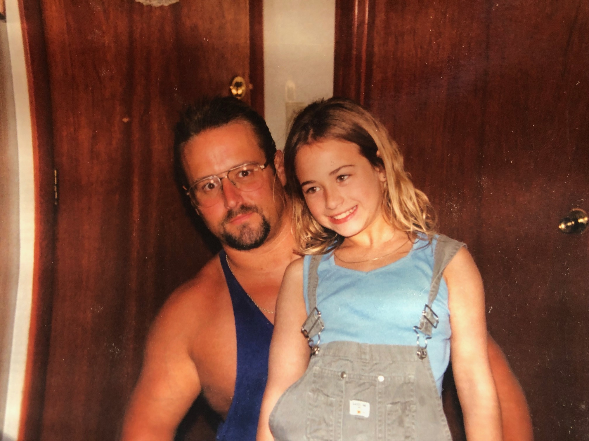 Melissa   Newmarket, NH    What is your dad's name?  Michael   What do you wish people would ask you about your dad?  I wish they'd ask more about him rather than focus on how he died. He died by suicide and I hate how there is still so much stigma behind it. They focus on that and sometimes react negatively to me telling them. He was a good person and his manner of death does not define who he was as a person. He was a good dad.   What's your favorite memory of your dad?  We used to go to the movies every weekend. We started going when I was around 7 years old and we kept the ritual going until his passing last year. I'm currently 28.
