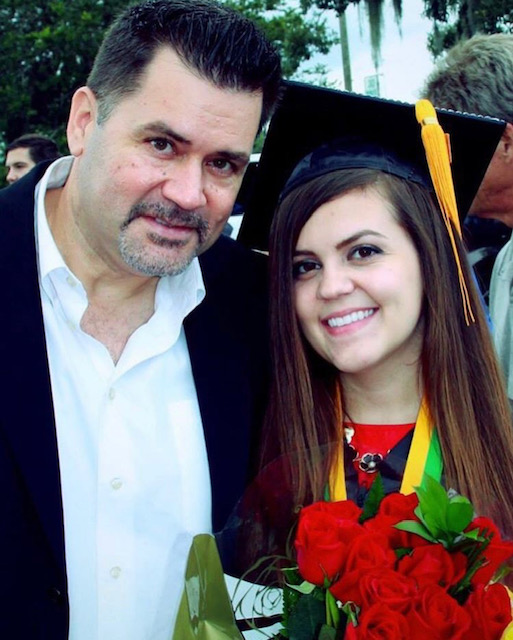 Christie   Orlando, FL    What is your dad's name?  Gregory   What do you miss (or not miss) about your dad?  My dad used to sing a song, whenever I missed his calls he'd leave it as a voicemail. It was just some silly song with my name in it, but he made it up when I was a kid and I can still hear the words today.   What's something helpful that someone did for you after you lost your dad?  Listened. Cried with me. Nothing anyone said really made it better but feeling like they understood my pain a little did sort of help.