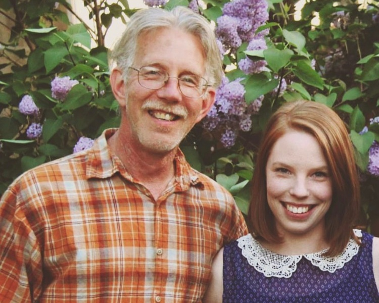 "Samantha | Lancaster, PA    What is your dad's name?  Daniel   What's your favorite memory of you dad?  The time he pretended to be an Olympic figure skater in the living room to get us all to laugh. His triple toe loop was on point!   What's something helpful that someone did for you after you lost your dad?  Sent me letters in the mail. One friend's wish was that my ""grief be fierce,"" and that has stuck with me."