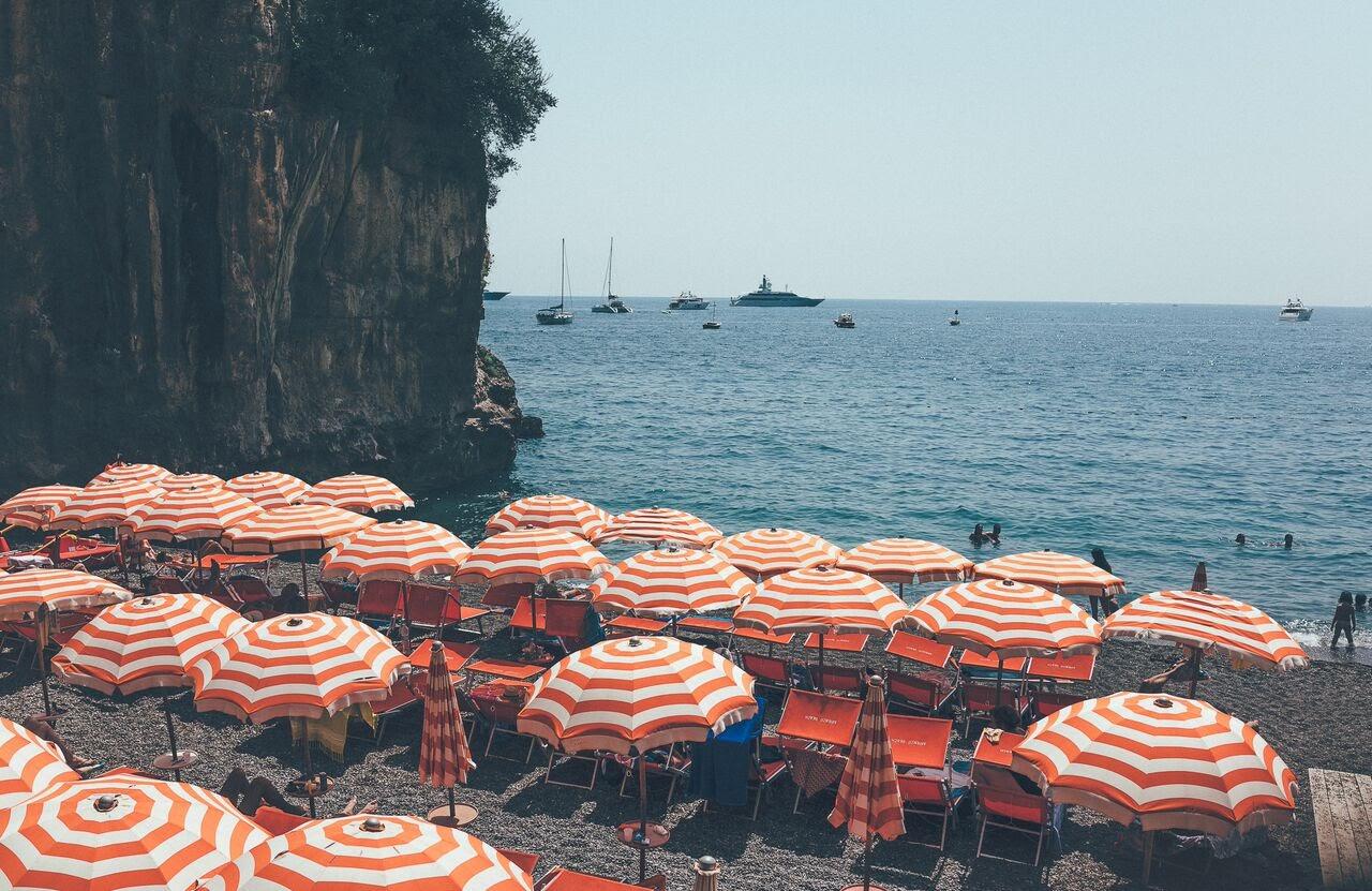 POSITANO-Beach Umbrellas.jpg