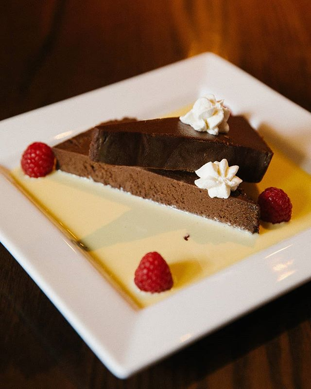 Flourless Chocolate Espresso Torte; the perfect cure for the Monday blues.