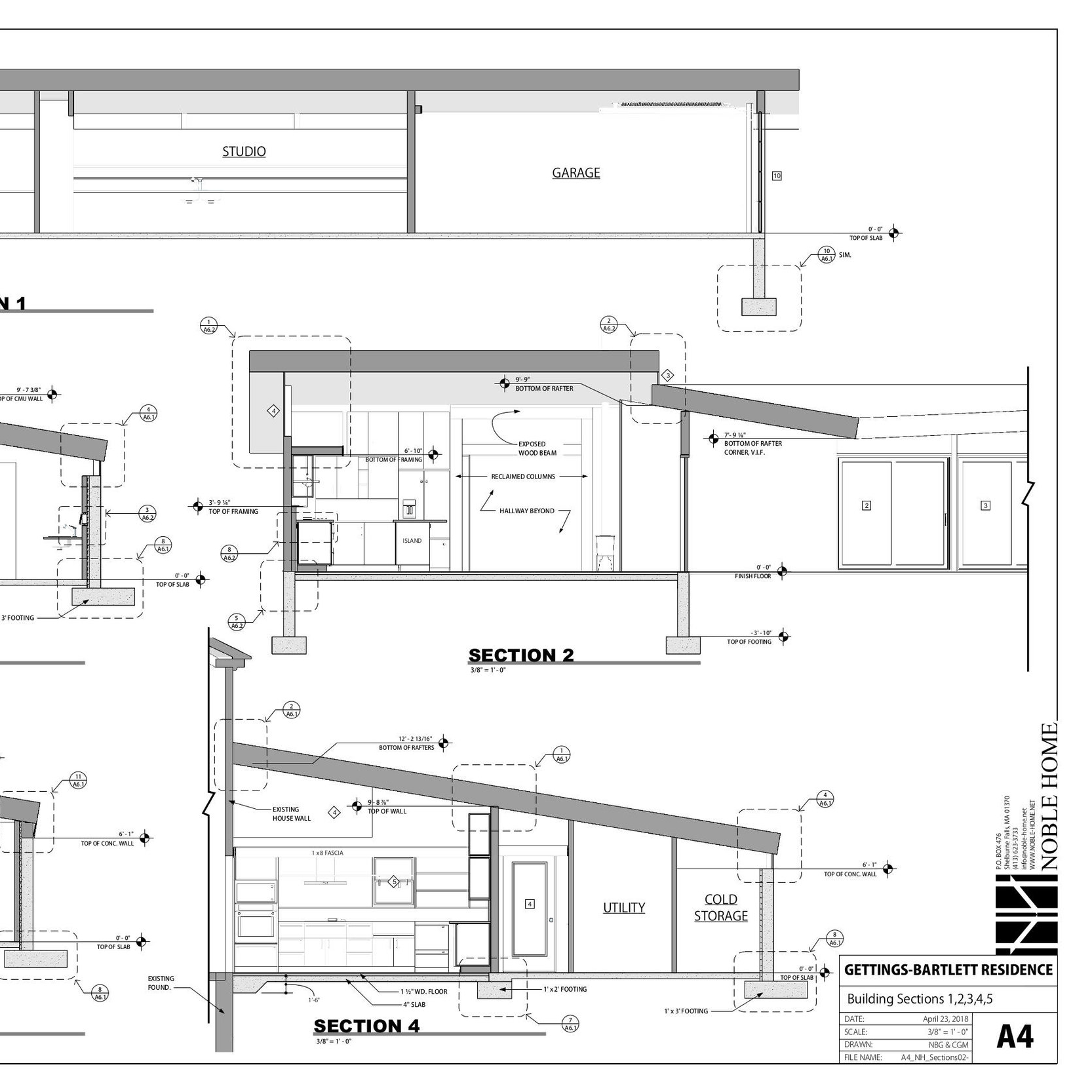 construction drawing details