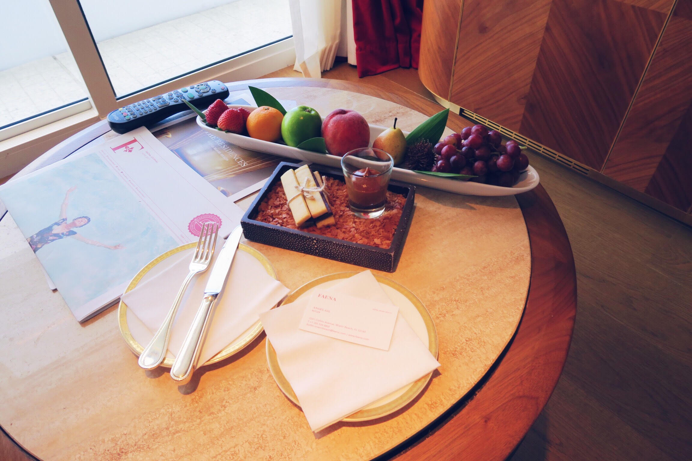 the best service miami beach faena hotel fruits treats .jpg