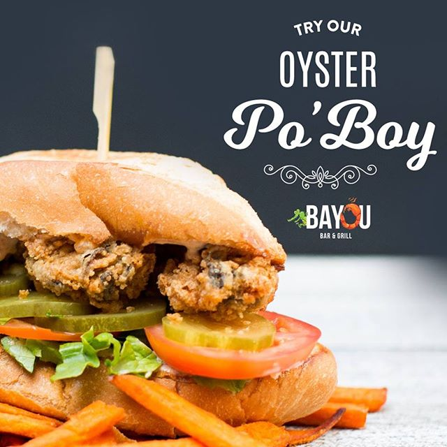 No meat for Ash Wednesday? NP! Our oyster and shrimp po' boy sliders are a perfect lunch option, you can pair them with soup, salad or red beans and rice for only $12.95 *includes a soft drink
