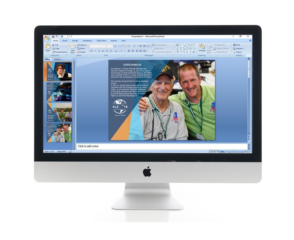 Elevate Branding Powerpoint Template