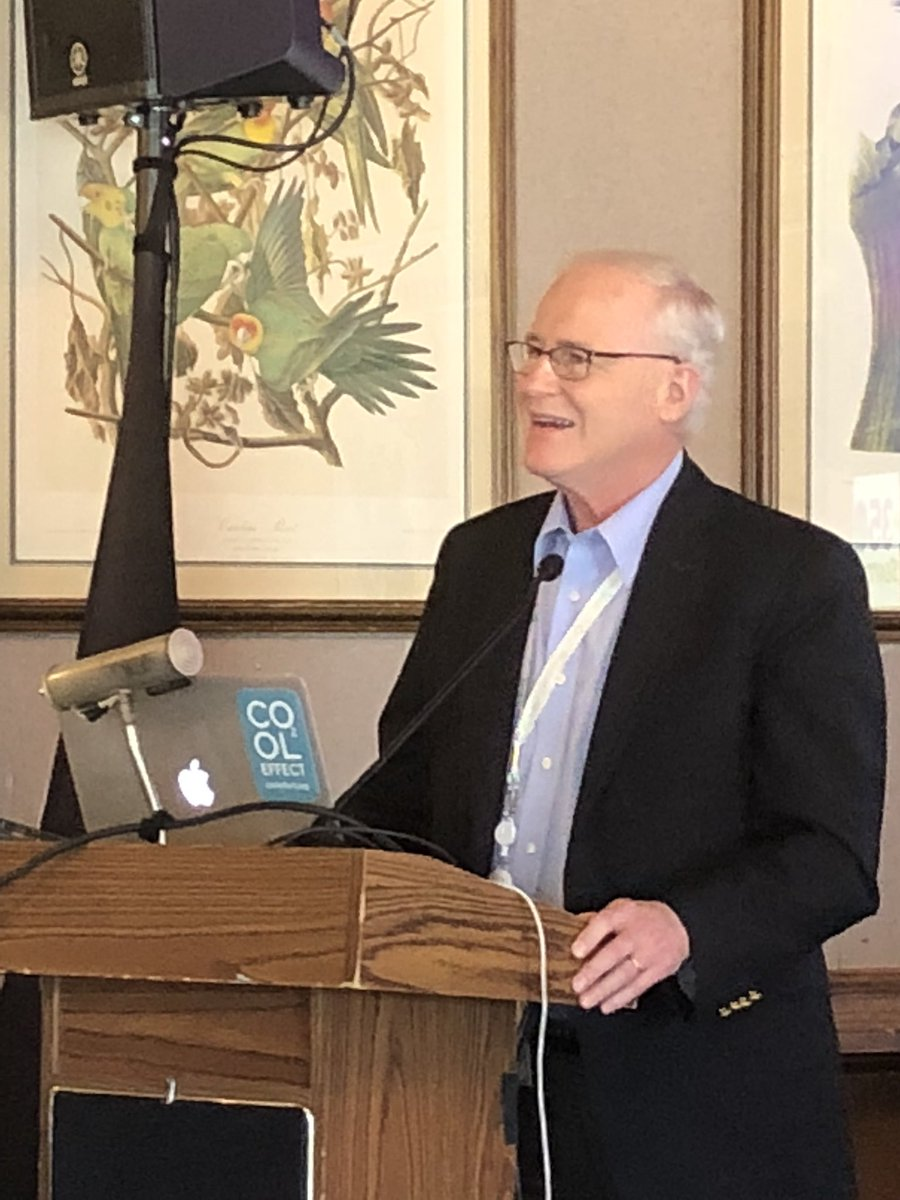 "Senator Barrett at a San Francisco forum titled ""Financing Climate Justice"""