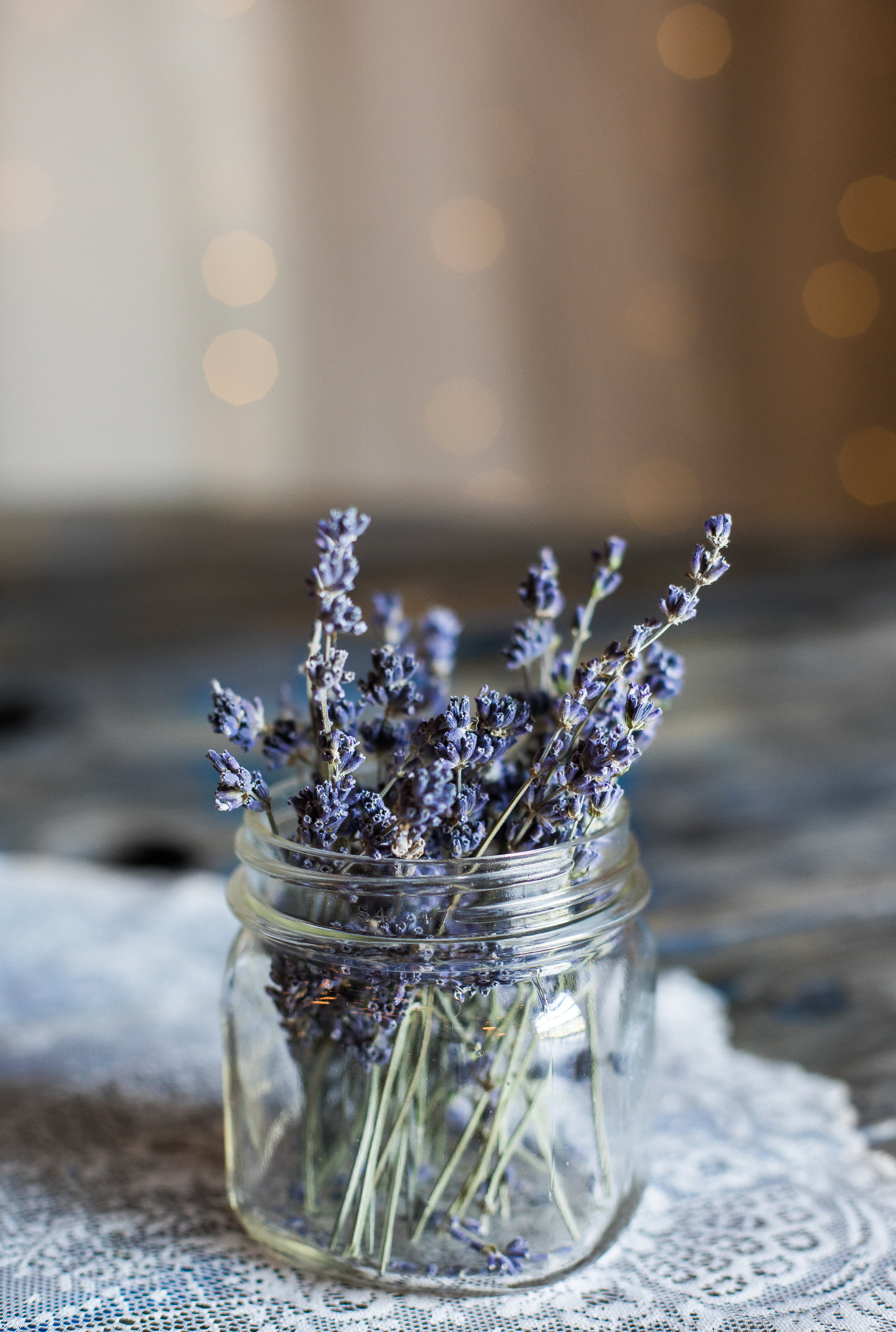 Use lavender to help you intentionally set a routine for a better night sleep.