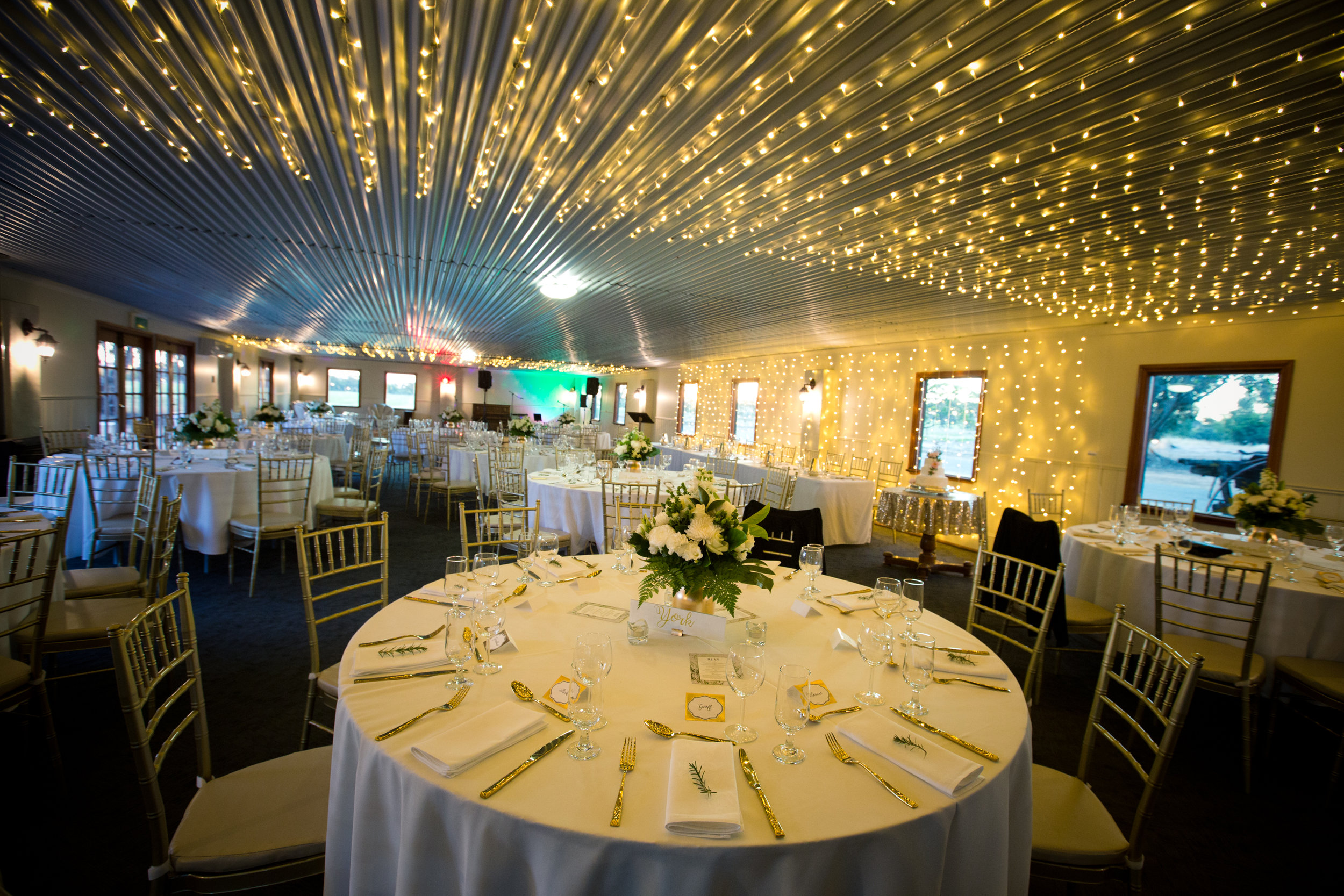The Perfect Wedding - The Function Room is licensed for 150 people, although with the dance floor can comfortably fit 120 seated. This is perfect for a wedding or special birthday party, and has its own private licensed outdoor area the south side.