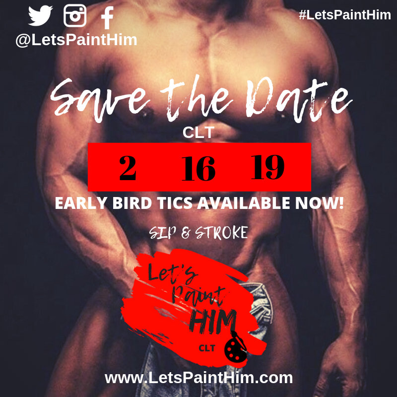 #LetsPaintHimCLT - WHEN: Saturday | February 16, 2019WHERE: PRIVATE LOCATIONTIME: 7:00PM