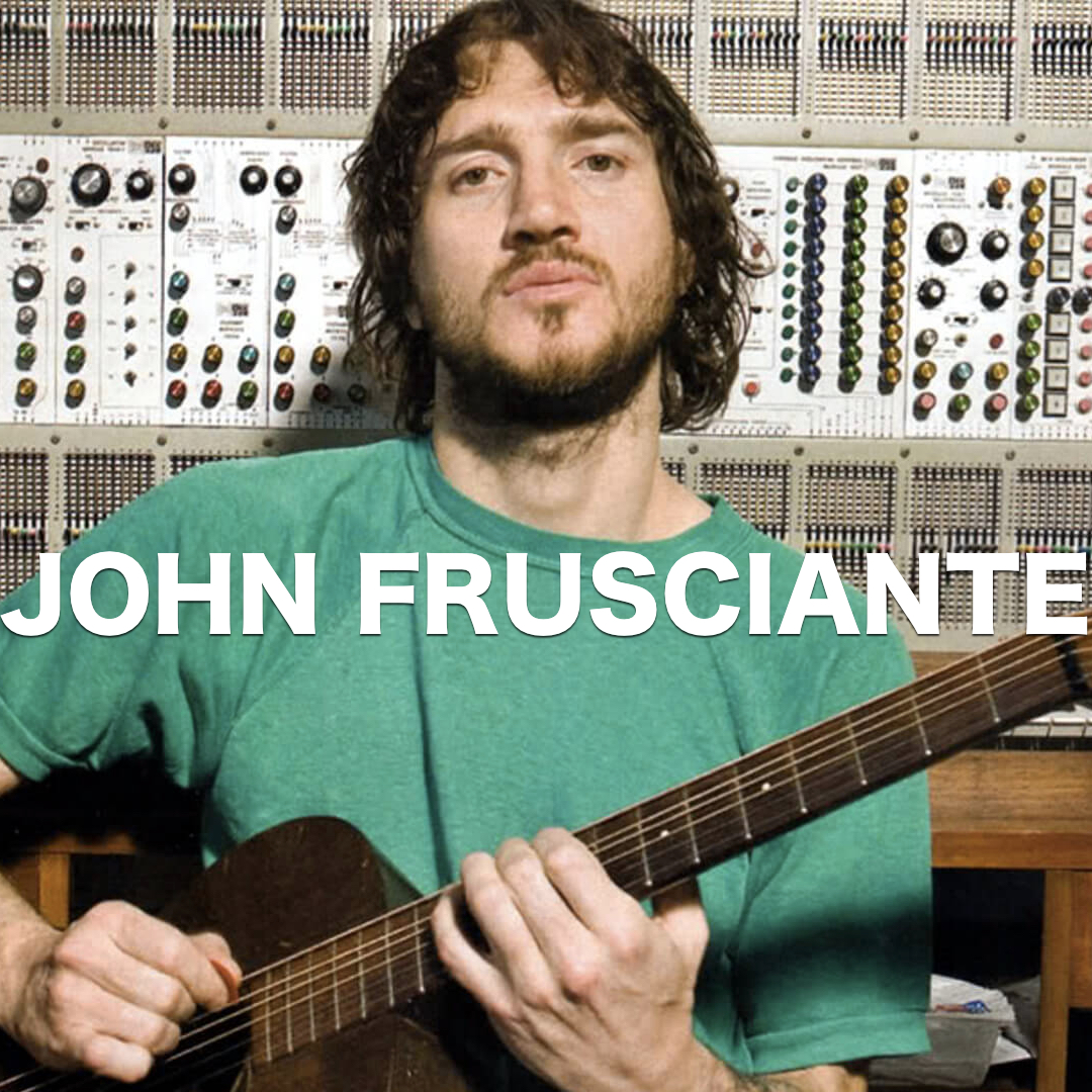 JOHN FRUSCIANTE RECORDING SESSIONS