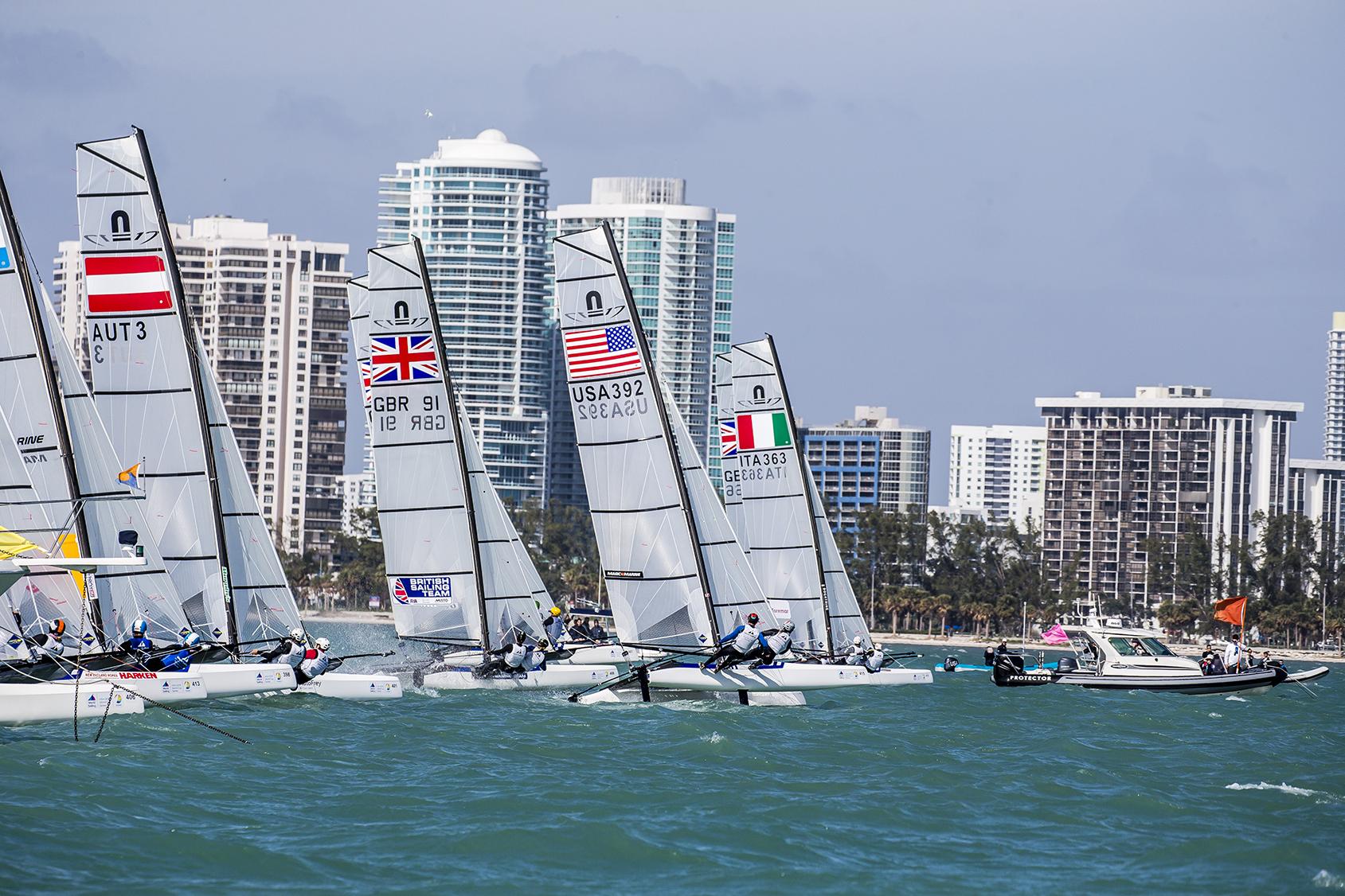 Sailing World Cup Miami, 2018