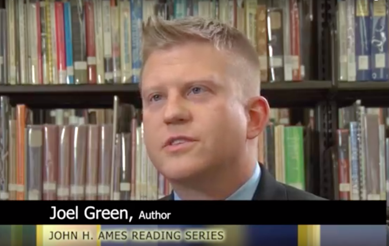 Joel Green was selected to be the guest speaker for the 2018 AMES Reading Series - https://www.youtube.com/watch?v=eiq0GlJaVo8&t=1391s