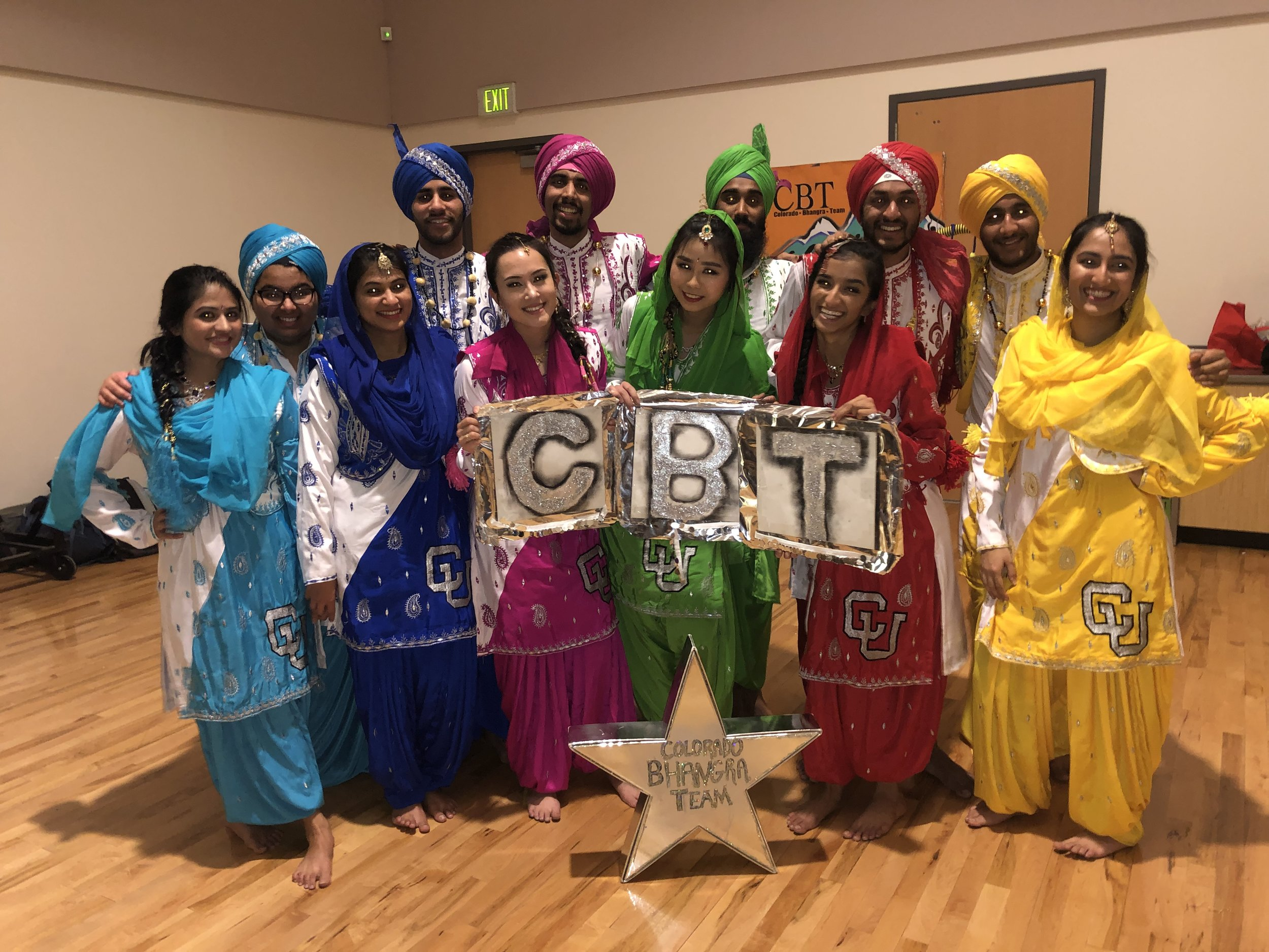 Colorado Bhangra Team   Bhangra is a folk dance that originated in Punjab, India. Traditionally, men wear turbans and women wear the respective 'churi daar or salwaar kaameej'. The dance itself is very exciting, lively, and vibrant. This particular performance has some American pop songs throughout it as well! Truly, this form of dance intends to entertain both the performers and the audience members. Colorado Bhangra is the official Colorado state certified Bhangra (Punjabi Indian folk dance) and nationally competitive team, and the largest Bhangra team on the western slope of the United States! We also hold an annual Bhangra Camp at which we teach the dance form to students from ages 5-60 of all backgrounds and skill levels. Follow us on Instagram and Facebook @coloradobhangra - enjoy the performance!