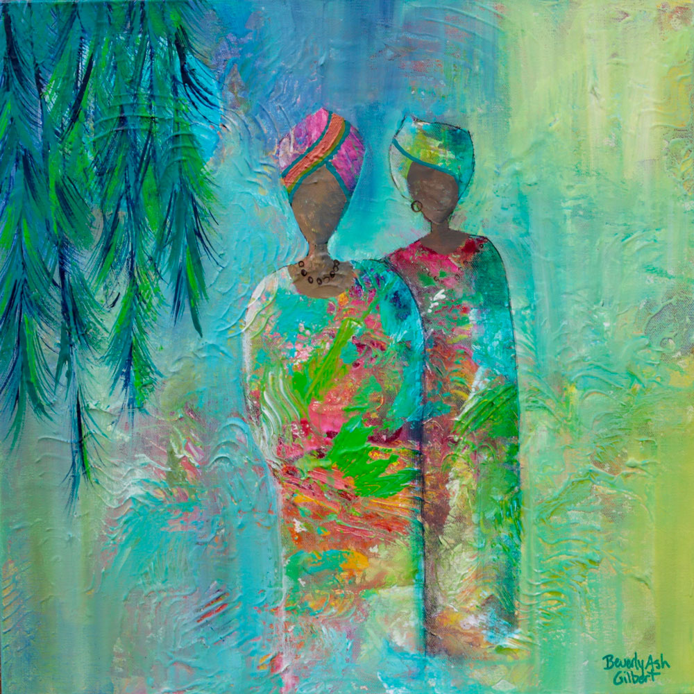Stand Together - It Takes A Village Painting Collection - Beverly Ash Gilbert