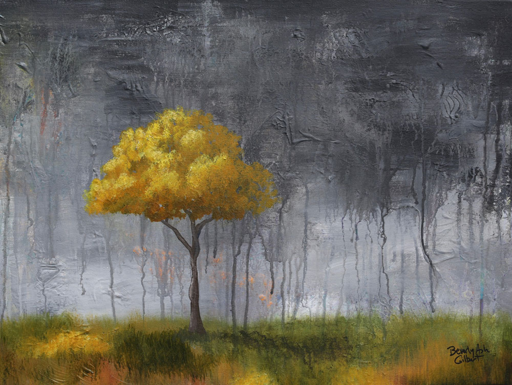 Break In The Storm - Dreamy Landscapes Painting Collection - Beverly Ash Gilbert