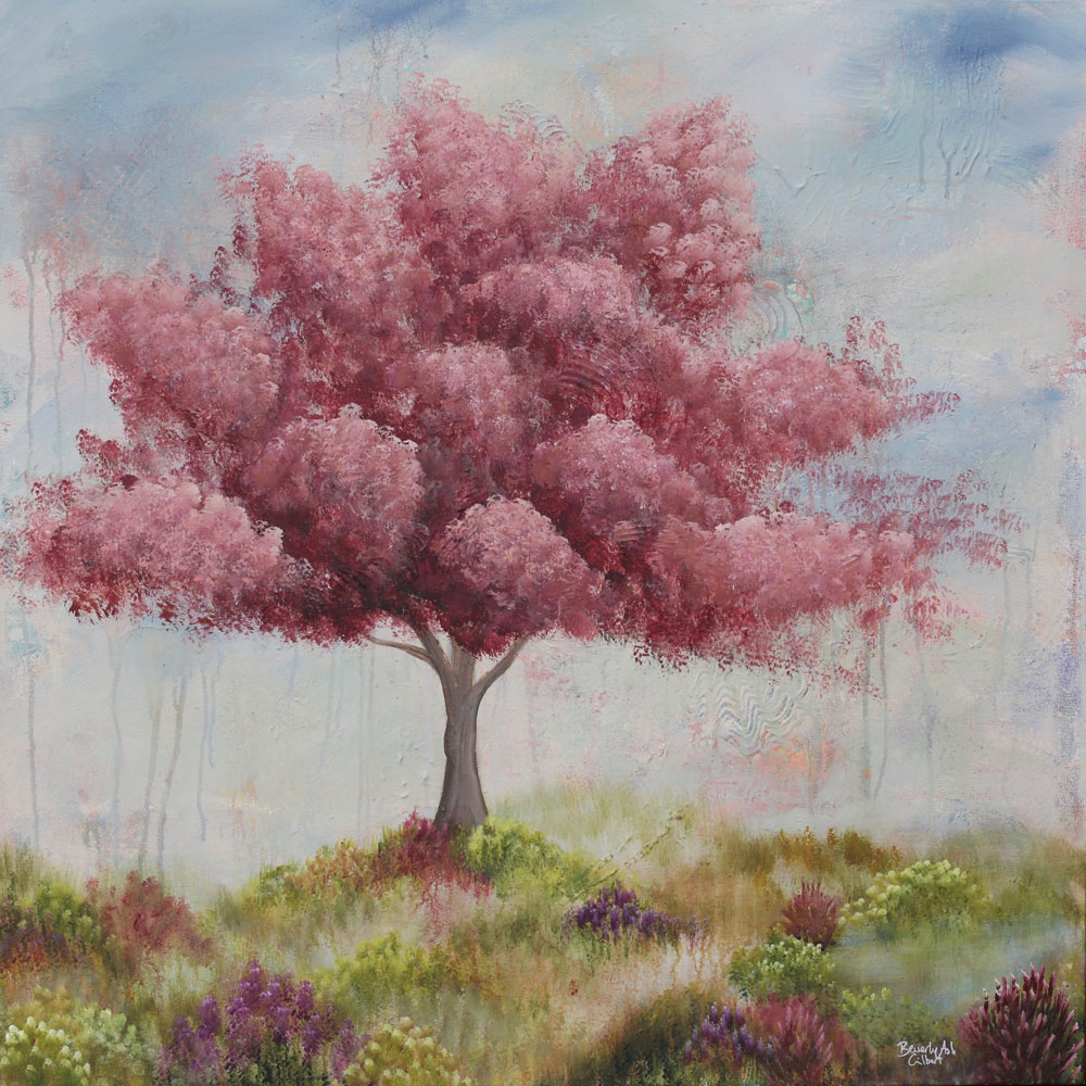 In The Meadow - Dreamy Landscapes Painting Collection - Beverly Ash Gilbert