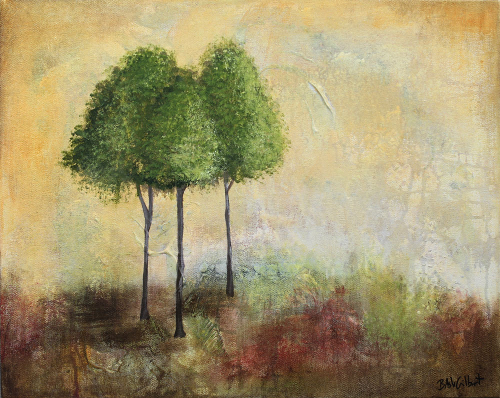 Golden Sky - Dreamy Landscapes Painting Collection - Beverly Ash Gilbert