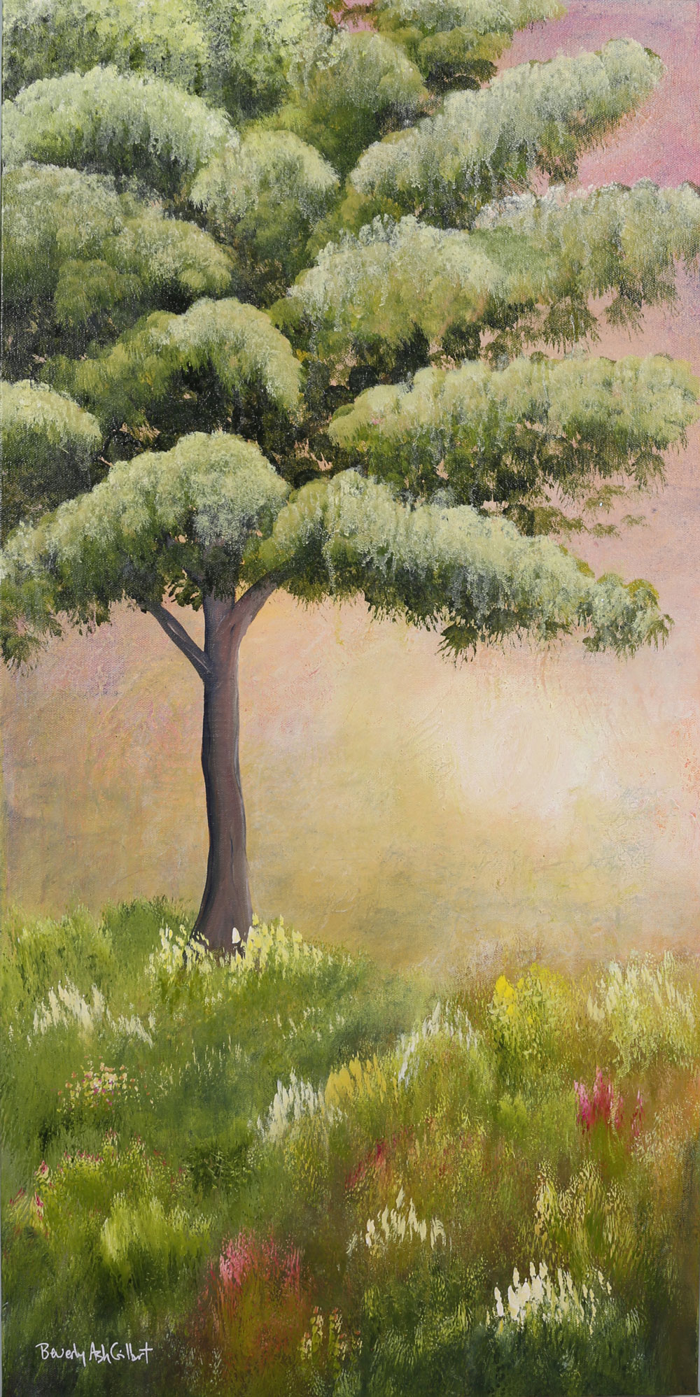 Spring Sunrise - Dreamy Landscapes Painting Collection - Beverly Ash Gilbert