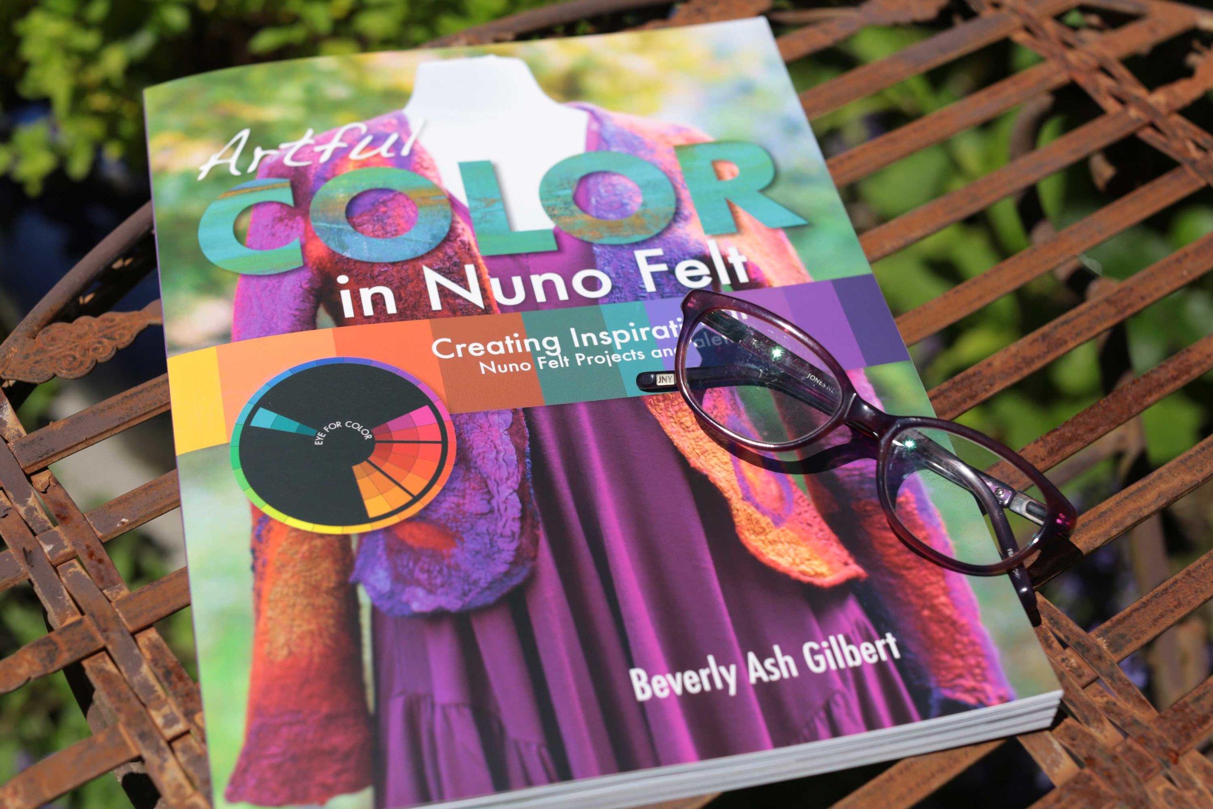 Artful Color in Nuno Felt _Cover