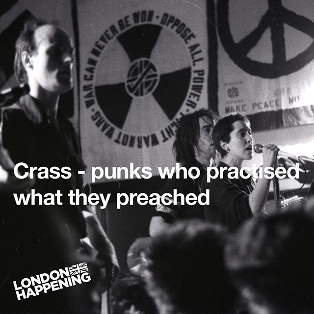 Crass may have disbanded 35 years ago, but the music and message of the British anarcho-punk collective has never stopped being relevant. Now, three of their albums have been remastered and made available on vinyl, with more to follow. Stations Of The Crass, Feeding Of The Five Thousand (The Second Sitting) and Best Before 1984 have been unavailable for many years, but are being distributed on the band's own Crass Records via @onelittleindianrecords * * @crasswords  #crass #diy #stencil #punk #punk77 #subculture #london #music #1977 #1984 #guerrilla #hoax #kgb #anarchy #antifascism #feminism #animalrights #globalwarming #blackandwhite #logo