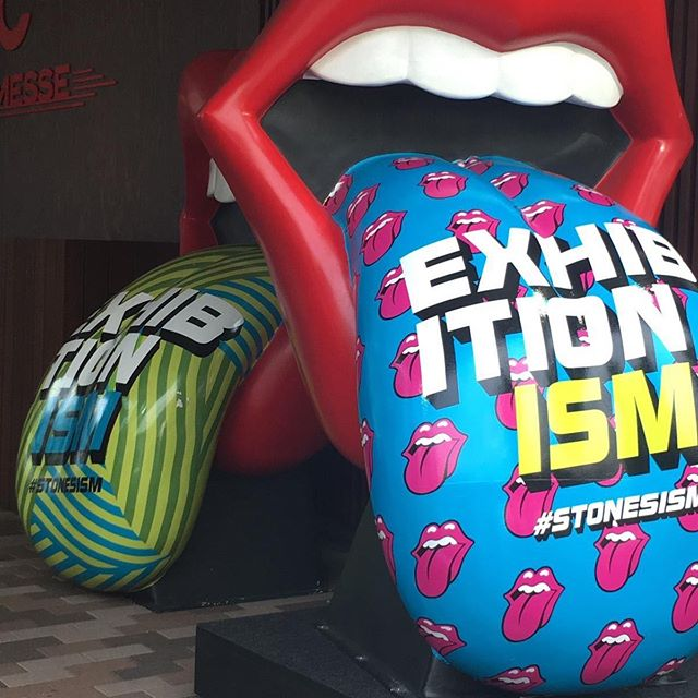 The unmistakable @therollingstones #tongue at #exhibitionism