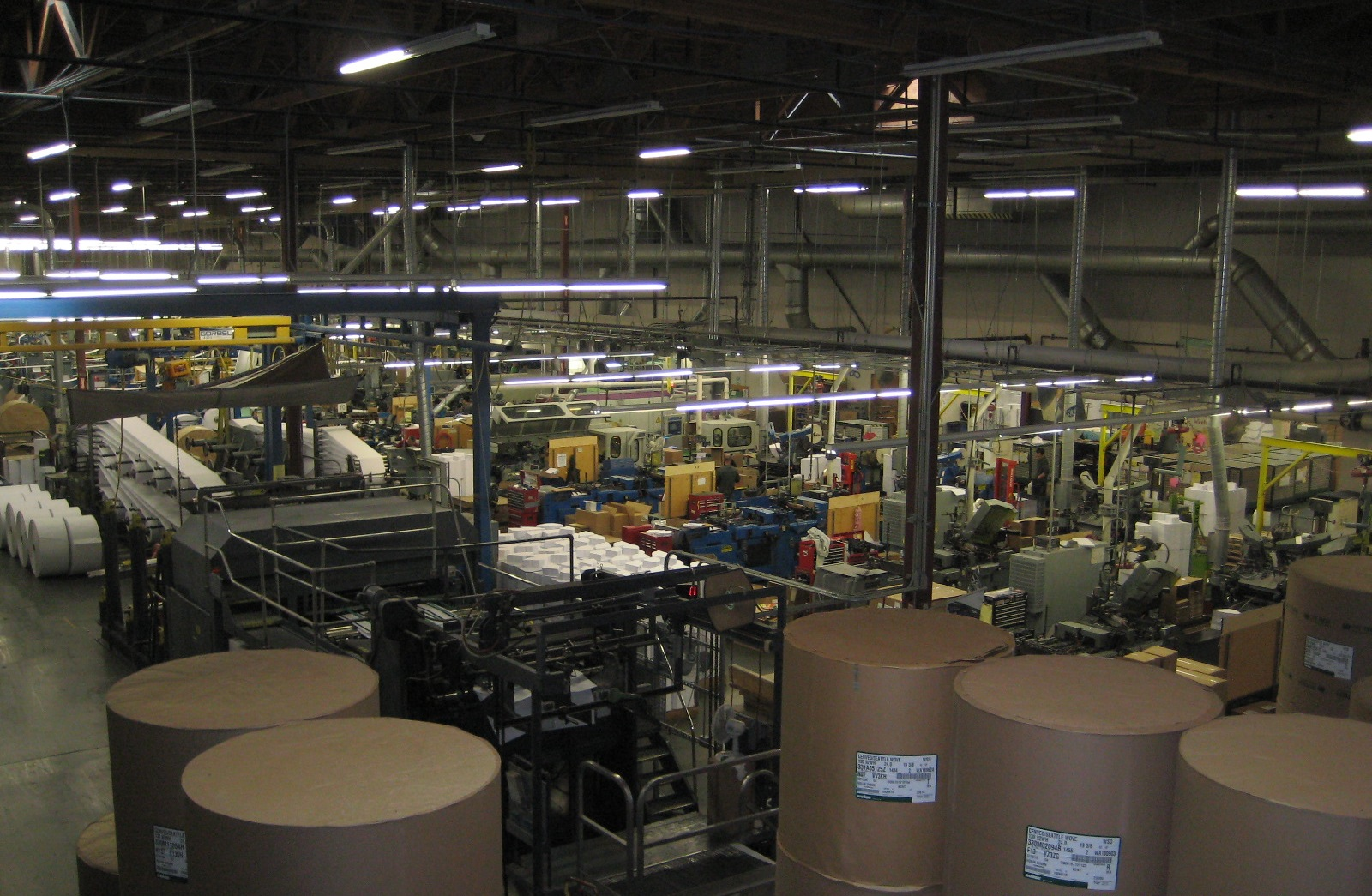 Printing Facility (Multiple Locations)
