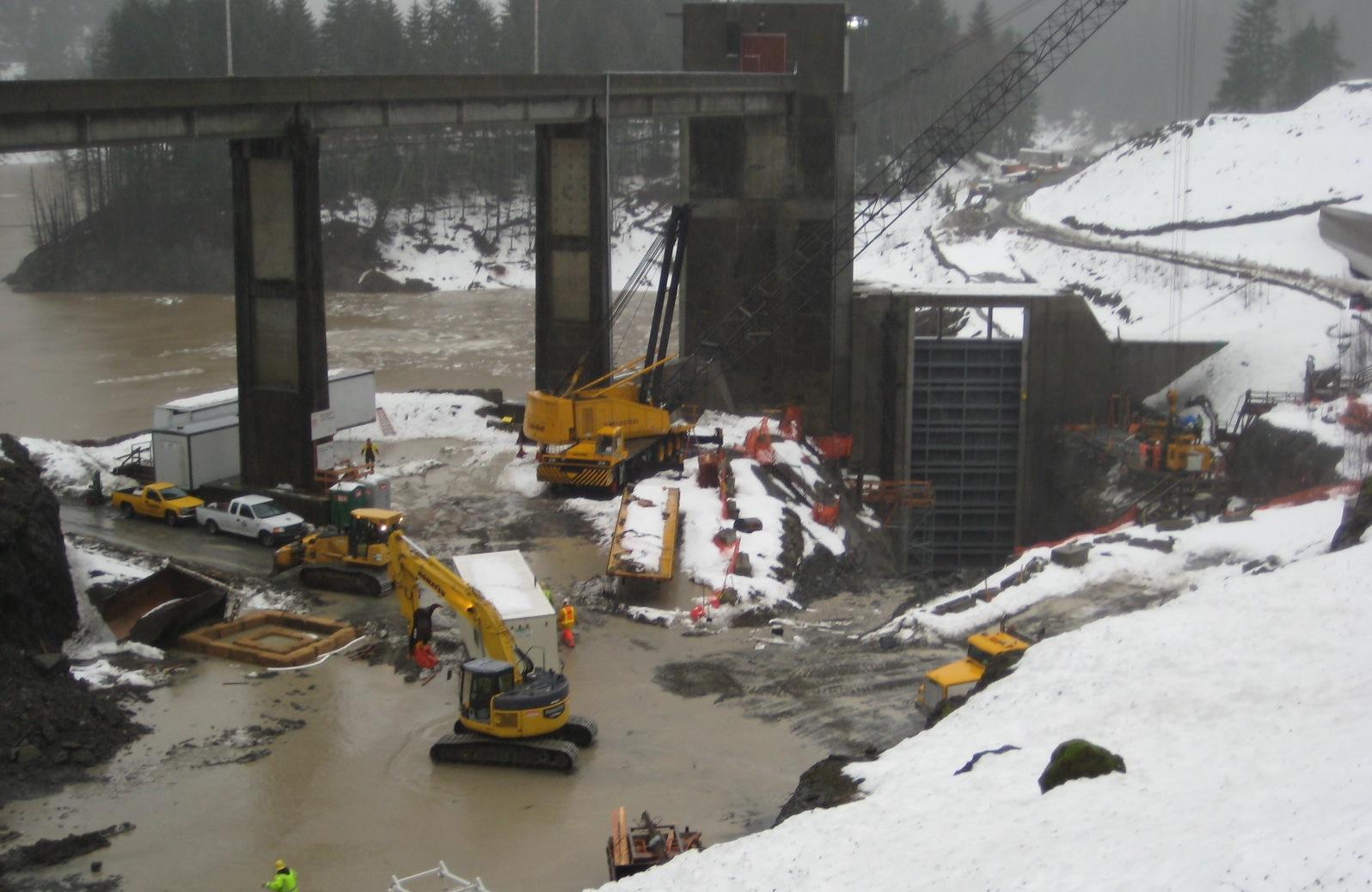 Army Core Dam Project
