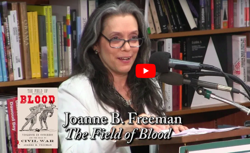 The Field of Blood - September 20, 2018A book talk and Q&A with an enthusiastic crowd at Politics and Prose Bookstore.Click to watch