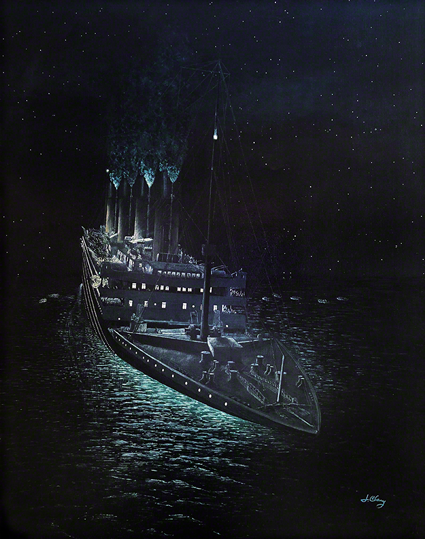 """ 1:40 a.m. Titanic Time, April 15, 1912"" 