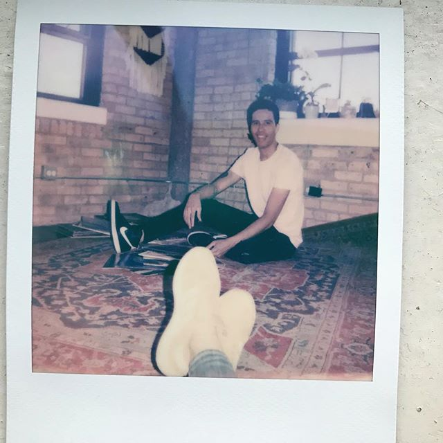 You're even good with #polaroids @colettepark  Photo Cred: Jamie Parker Edit: Dylan Lloyd